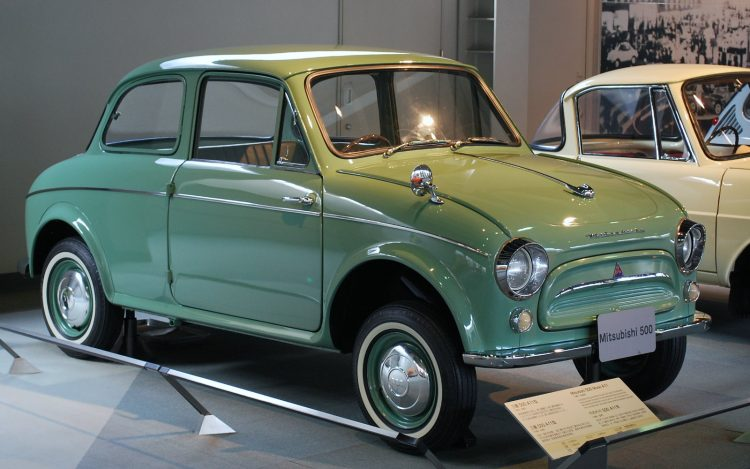 Копия Фиат 500 - Mitsubishi 500