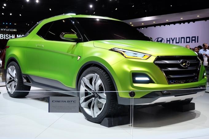 Hyundai Creta STC Concept пикап: полезай в кузов!