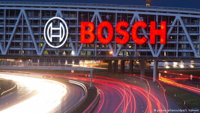 Вывеска с логотипом Bosch