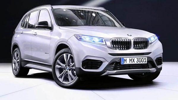 BMW X3 2017-2018 модельного года