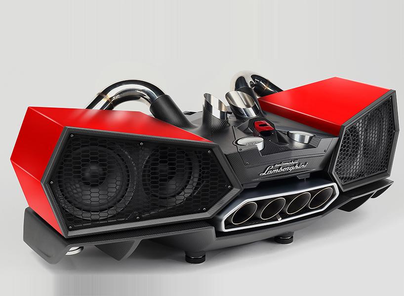 Звуковая система из деталей Lamborghini