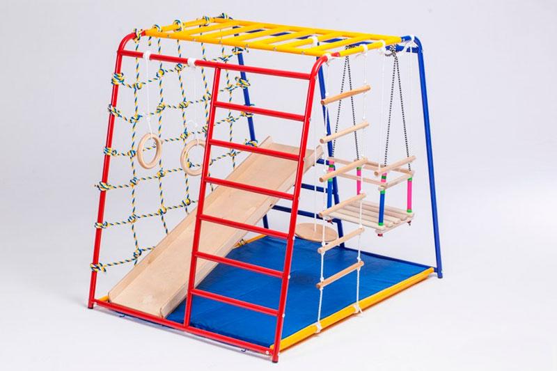 Детские спортивные комплексы - как выбрать безопасную конструкцию