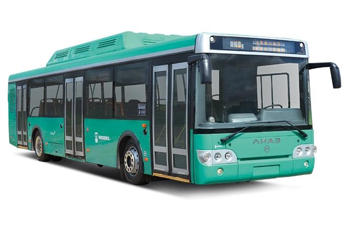 Электробус ЛиАЗ-6274 на базе городского 5292