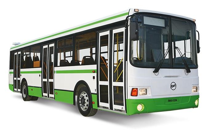 ЛиАЗ-5256 после очередного рестайлинга