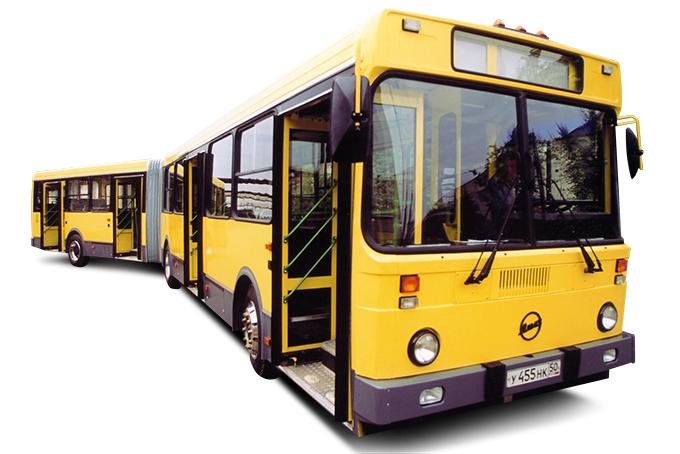 Сочлененный ЛиАЗ-6212, выпуск 2002 года