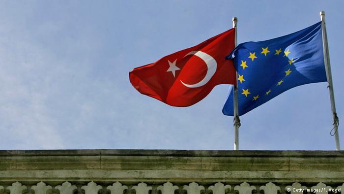 флага Турции и ЕС