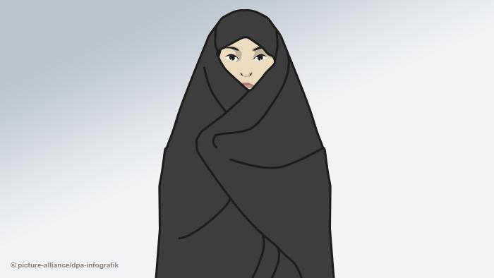 Женщина в чадре
