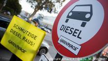 Deutsche Umwelthilfe DHU - Diesel-Verbot
