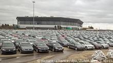 USA Pontiac Autofriedhöfe