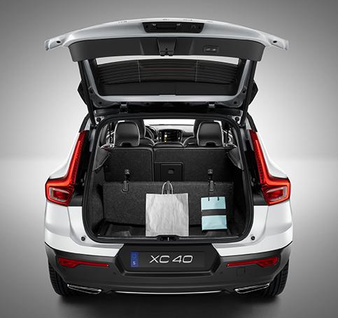 Volvo XC40: Озорство