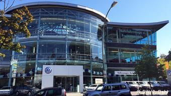 Автосалон Volkswagen в Берлине