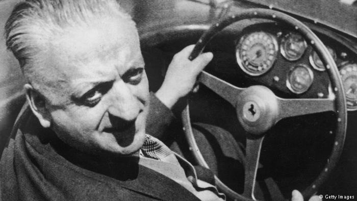 Энцо Феррари в апреле 1964 года.