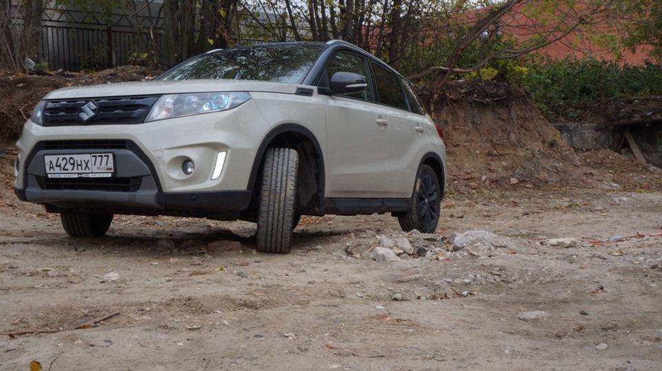 Тест-драйв Suzuki Vitara. Если в городе выпал снег!
