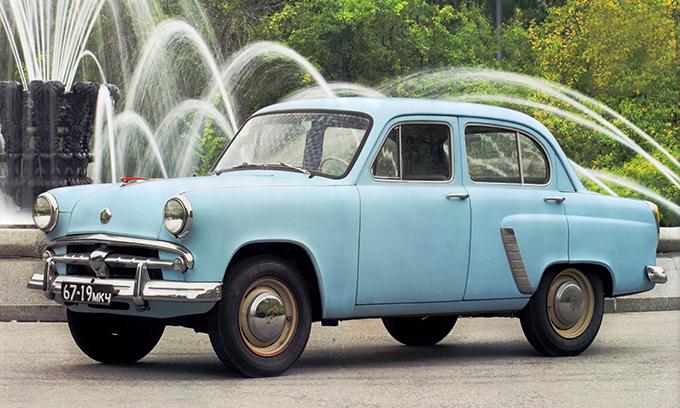 «Москвич-402/407». 1956 год