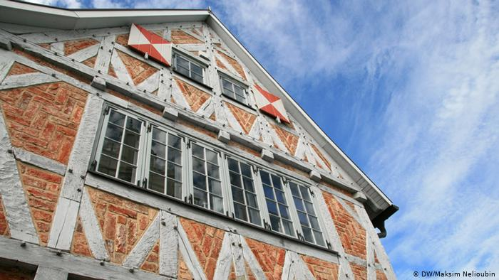 Старый фахверковый склад в Висмаре