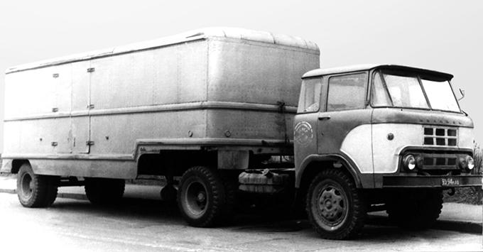 КАЗ-606 «Колхида», 1962 год