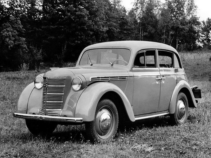 «Москвич-400», 1947 год