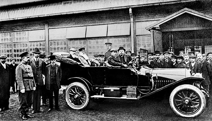 «Руссо-Балт-С24-40», 1913 год