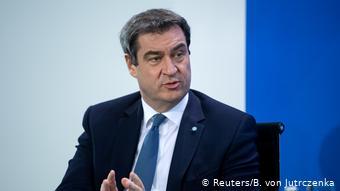 Премьер-министр Баварии Маркус Зёдер