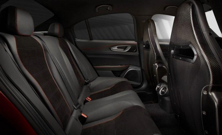Технические характеристики Alfa Romeo Giulia