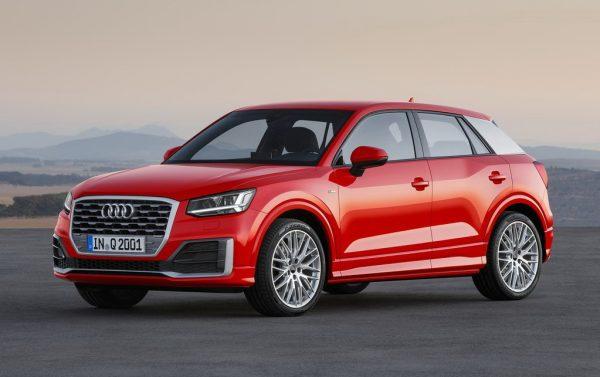 Новый кроссовер Audi Q2 2017 года