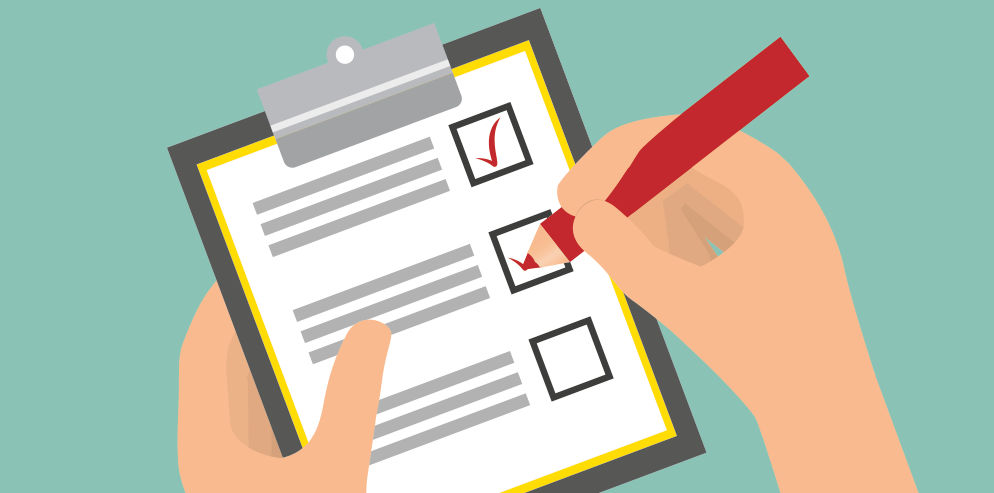 Standard Checklist for Vehicle owners and Drivers.