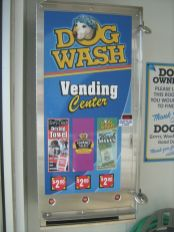 Dog Wash Vending machine!