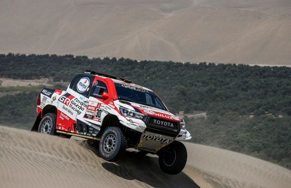 Dakar 2019: Al-Attiyah in control, Price battles through the pain