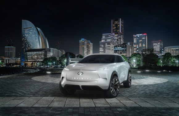 Announcing the INFINITI QX Inspiration:  An SUV for the electrified era