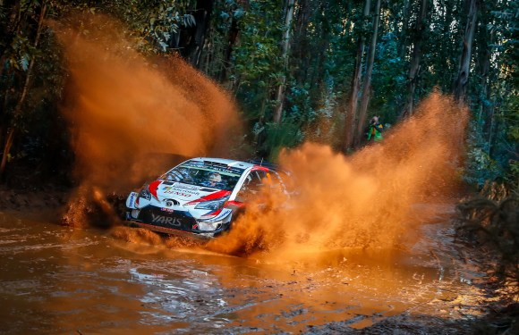 Toyota Yaris WRC races to victory in first-ever Rally Chile