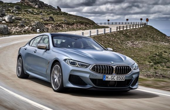Start of production for three new BMW 8 Series models