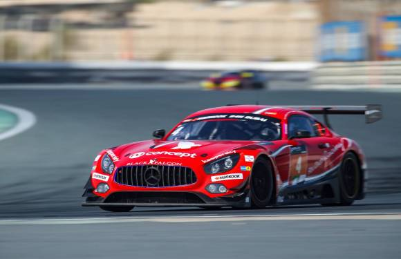 AL QUBAISI AND BLACK FALCON MAKE 24H DUBAI HISTORY