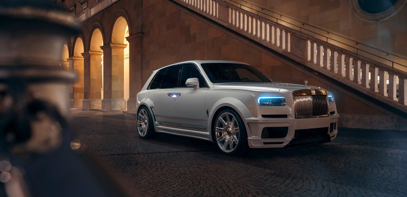 SPOFEC customizes the Rolls-Royce Cullinan