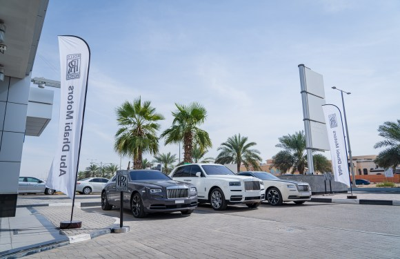 ABU DHABI MOTORS INAUGURATED ROLLS-ROYCE SERVICE WEEK