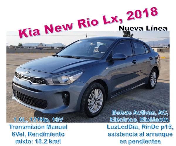 Kia Rio 2019 Azul Electrico: AutosRodRod. Autos Seminuevos
