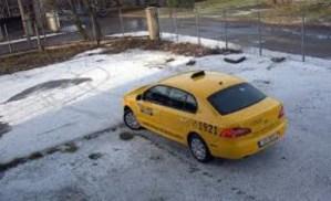 Автомобиль формы Tallink takso