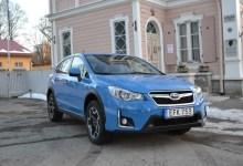 Subaru XV после обновления.