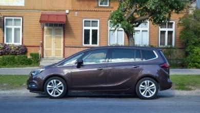 Photo of Обновленный компактвэн Opel Zafira