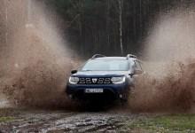 Фото Dacia Duster во время тест-драйва.