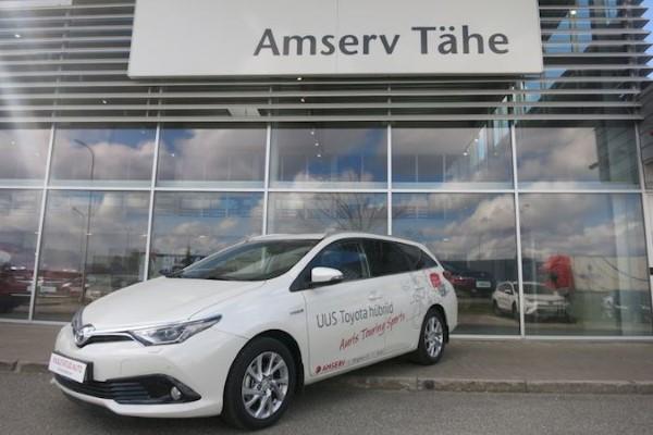 В Эстонии Toyota - лидер по продаже гибридных автомобилей.