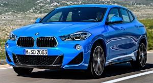 Фото BMW X2.