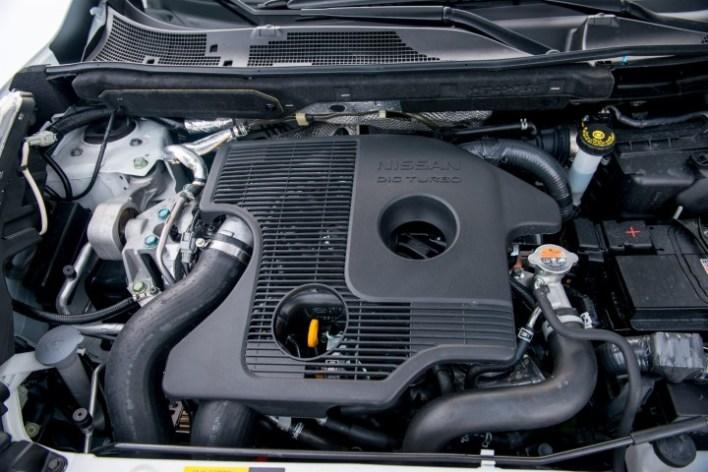 Под капотом Nissan Juke Nismo RS.