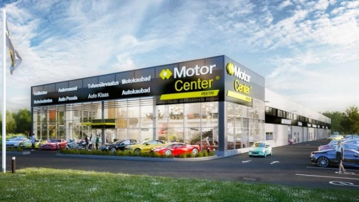 Проект автосервисного комплекса MotorCenter.