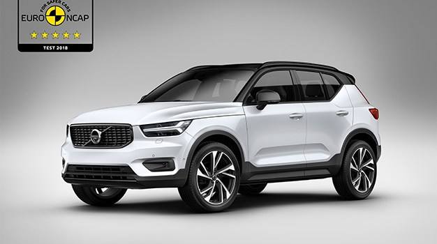 Volvo XC40 receives five star rating in Euro NCAP assessment