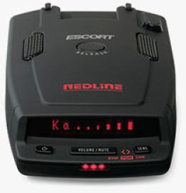 Police radar detector Escort RedLine