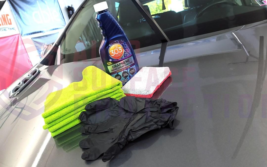 How to Install 303 Graphene Nano Spray Coating