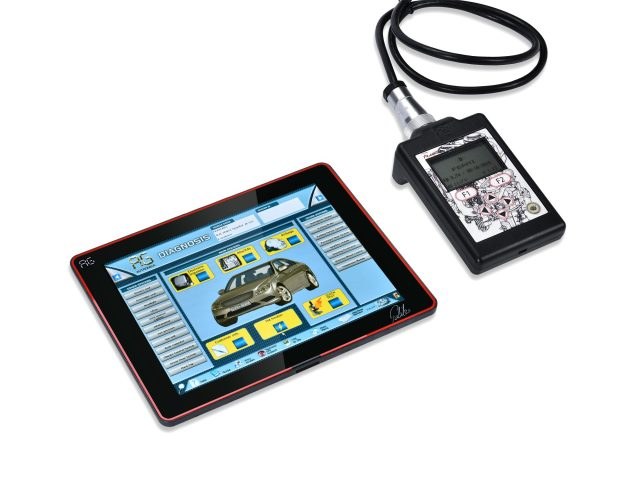 Galileo Diagnostic Tool Loaded with Ferrari Maserati