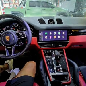 CarPlay Full Screen Porsche PCM5