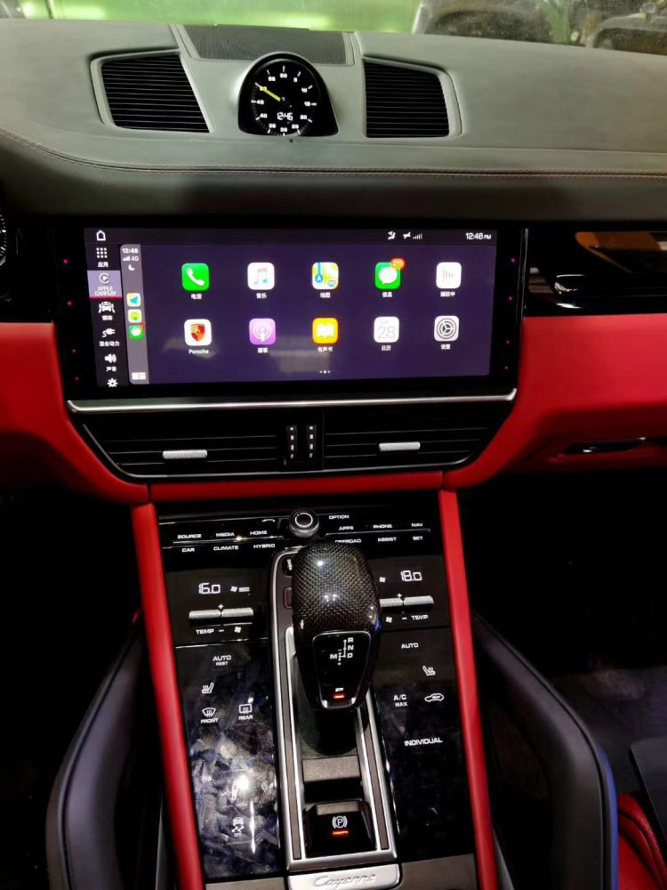 Porsche PCM5 Full Screen CarPlay
