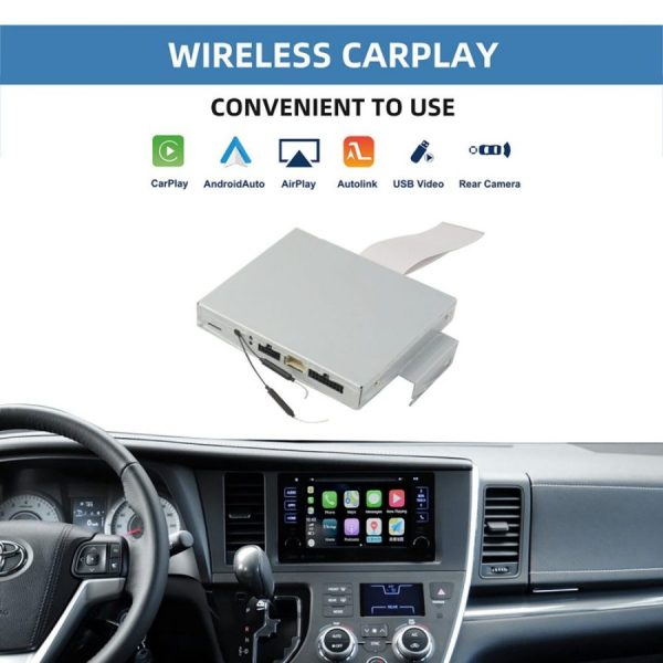 Toyota Sienna Wireless CarPlay